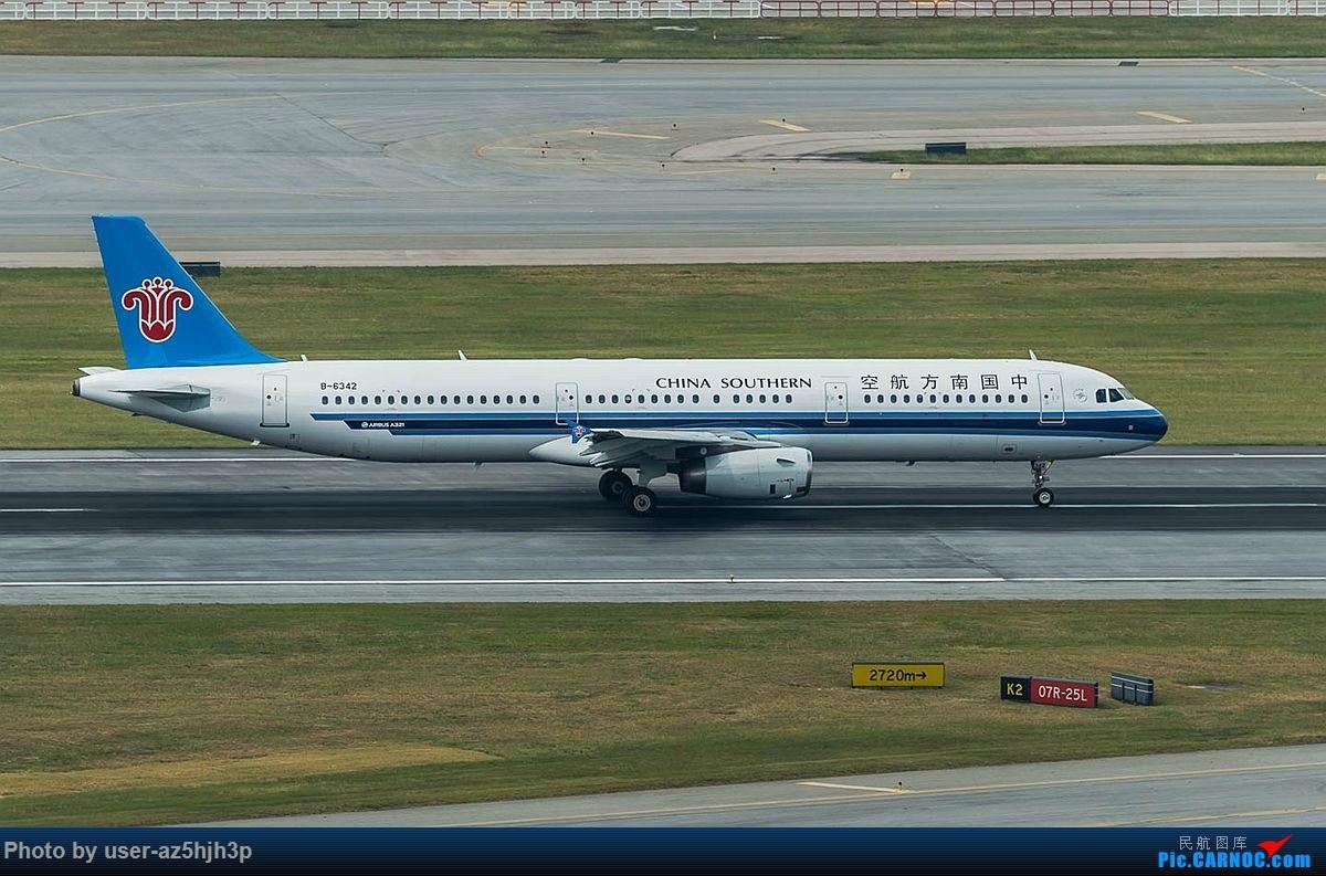 Re:[原创]空客A320系列一组 AIRBUS A321-200 B-6342 香港国际机场