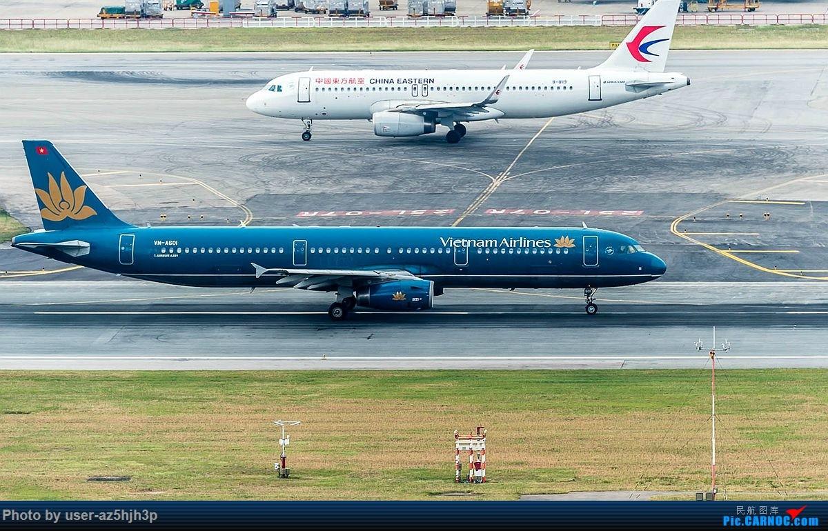 Re:[原创]空客A320系列一组 AIRBUS A321 VN-A601 香港国际机场