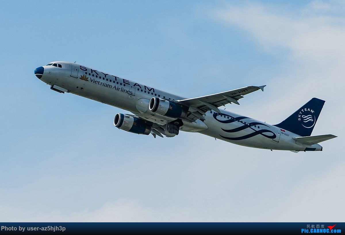 Re:[原创]空客A320系列一组 AIRBUS A321 VN-A327 香港国际机场