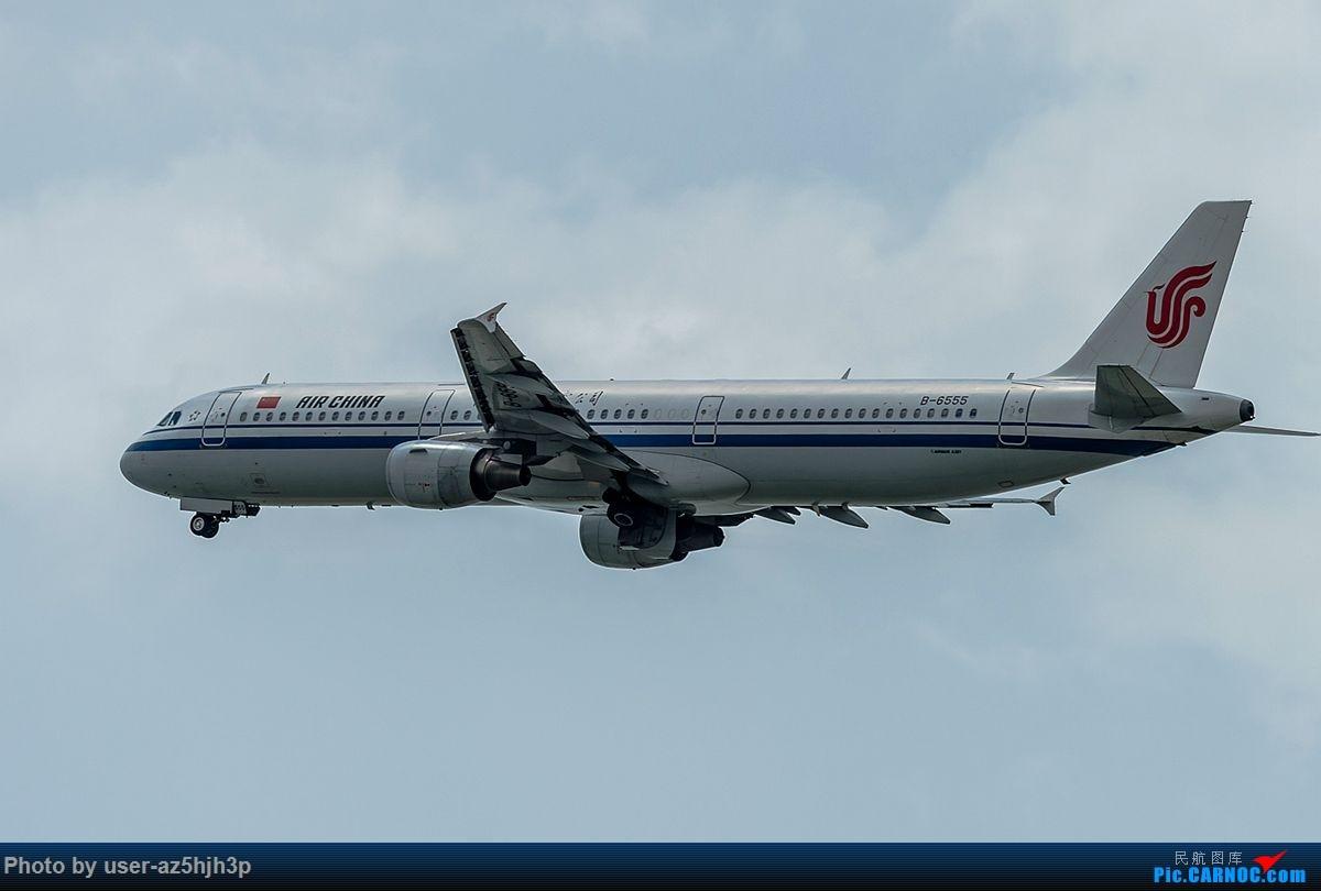 Re:[原创]空客A320系列一组 AIRBUS A321-200 B-6555 香港国际机场