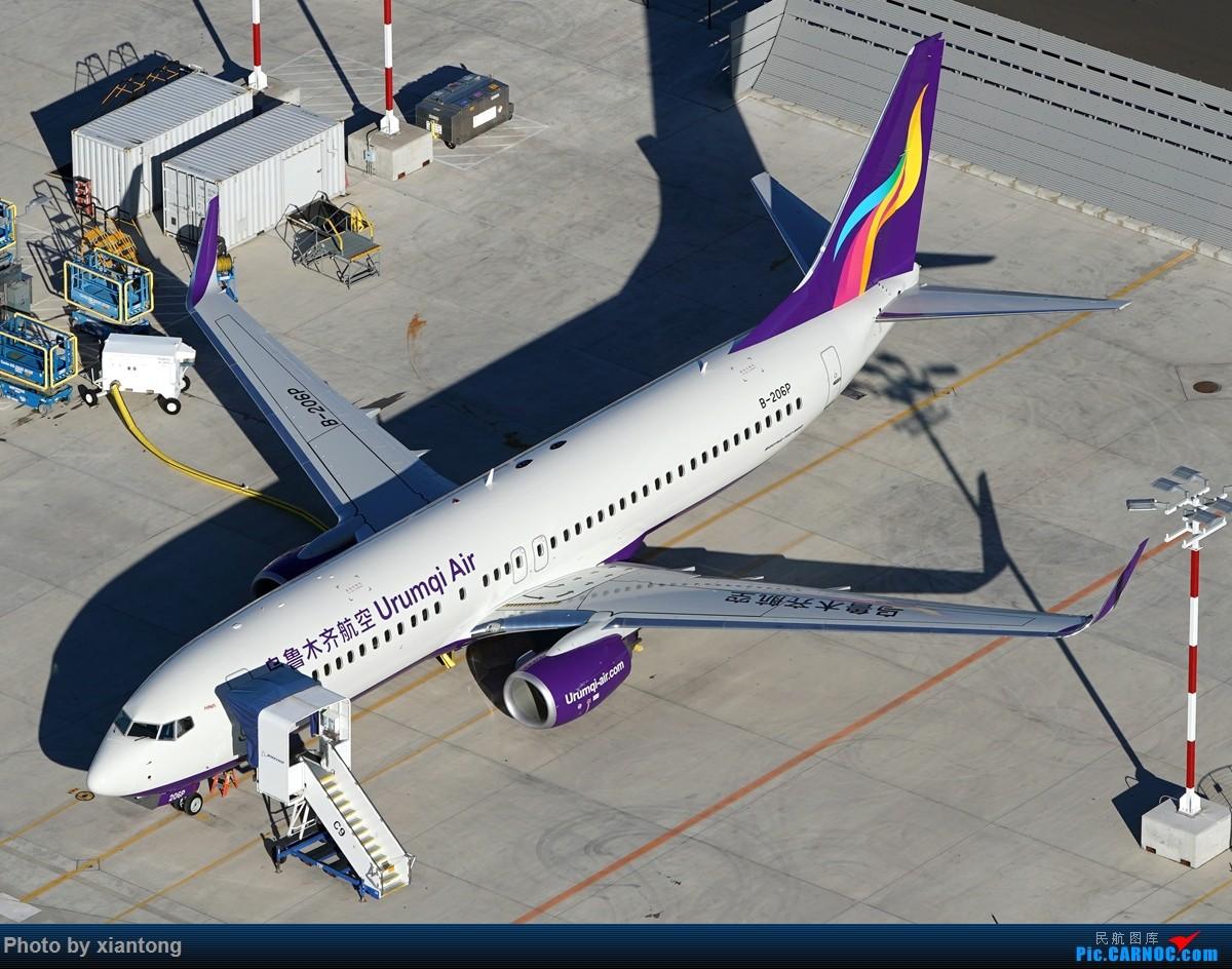 Re:[原创]{XIANTONG与飞机系列】发的有点儿晚了,幸福的第一架737 BOEING 737-800 B-206P 美国波音场国王郡立机场