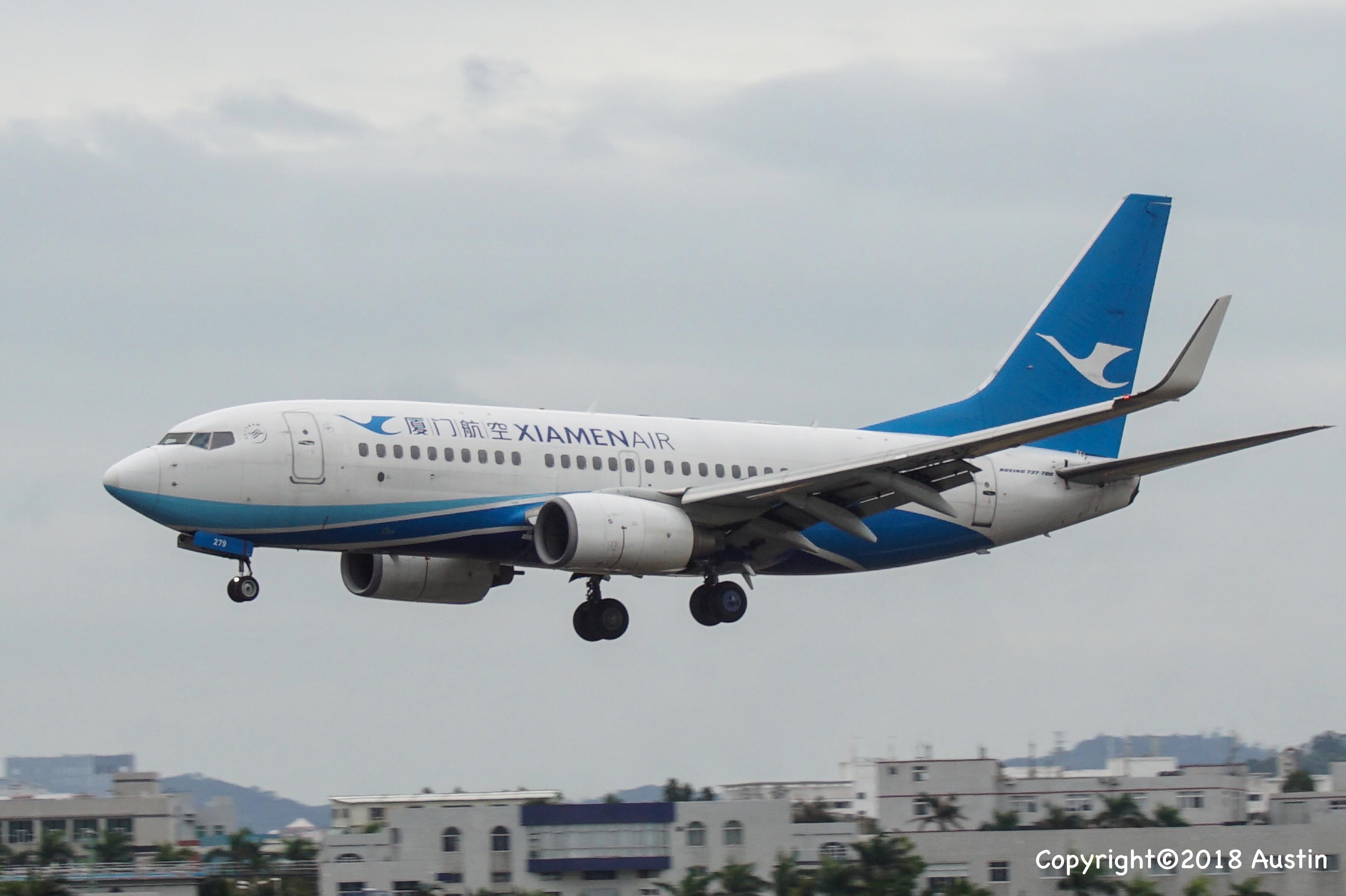 Re:[原创][XMN]接熊猫啦~part 1 BOEING 737-75C(WL) B-5279 中国厦门高崎国际机场