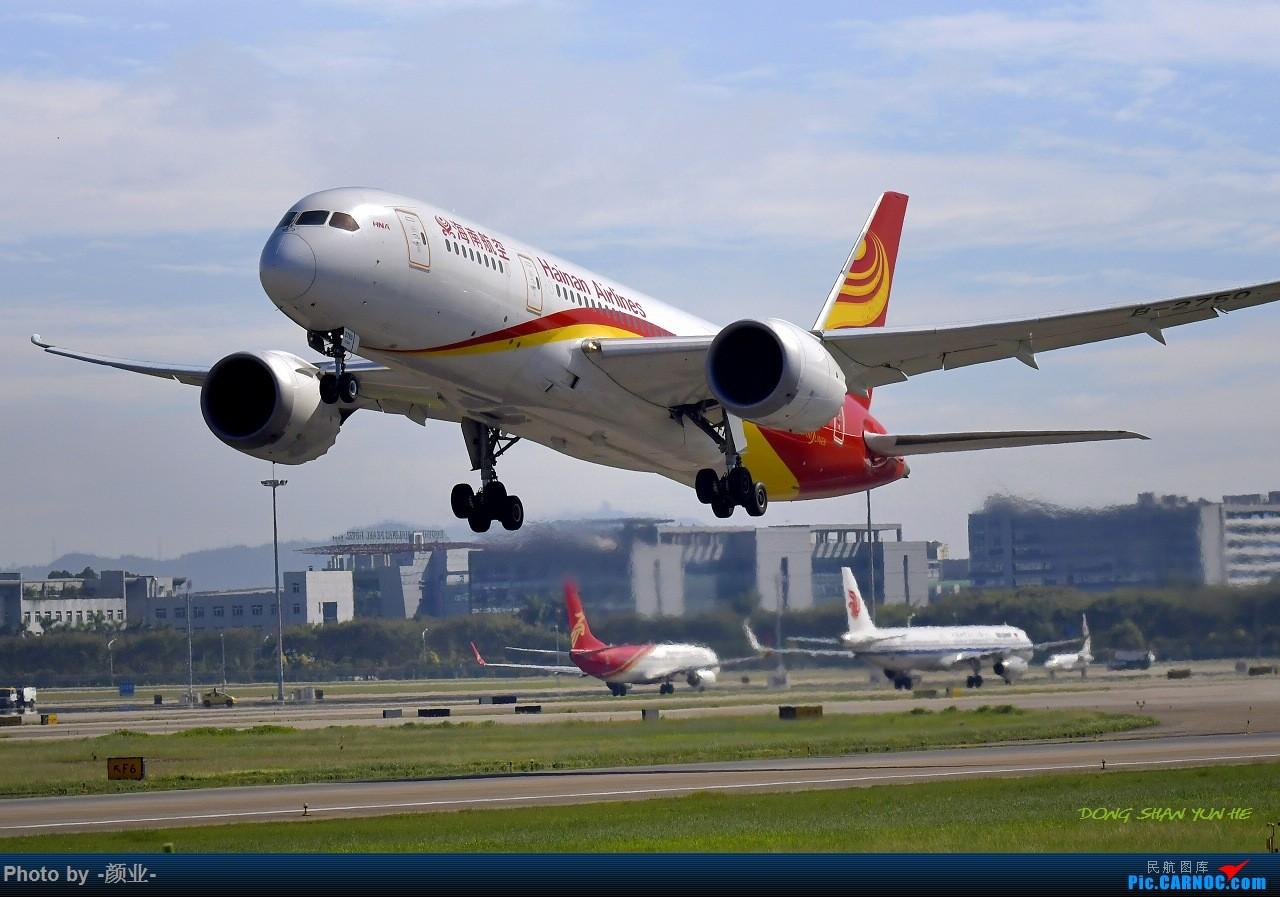 Re:[原创]走近飞机起降点(无尽创意) BOEING 787-8 B-2750 中国广州白云国际机场