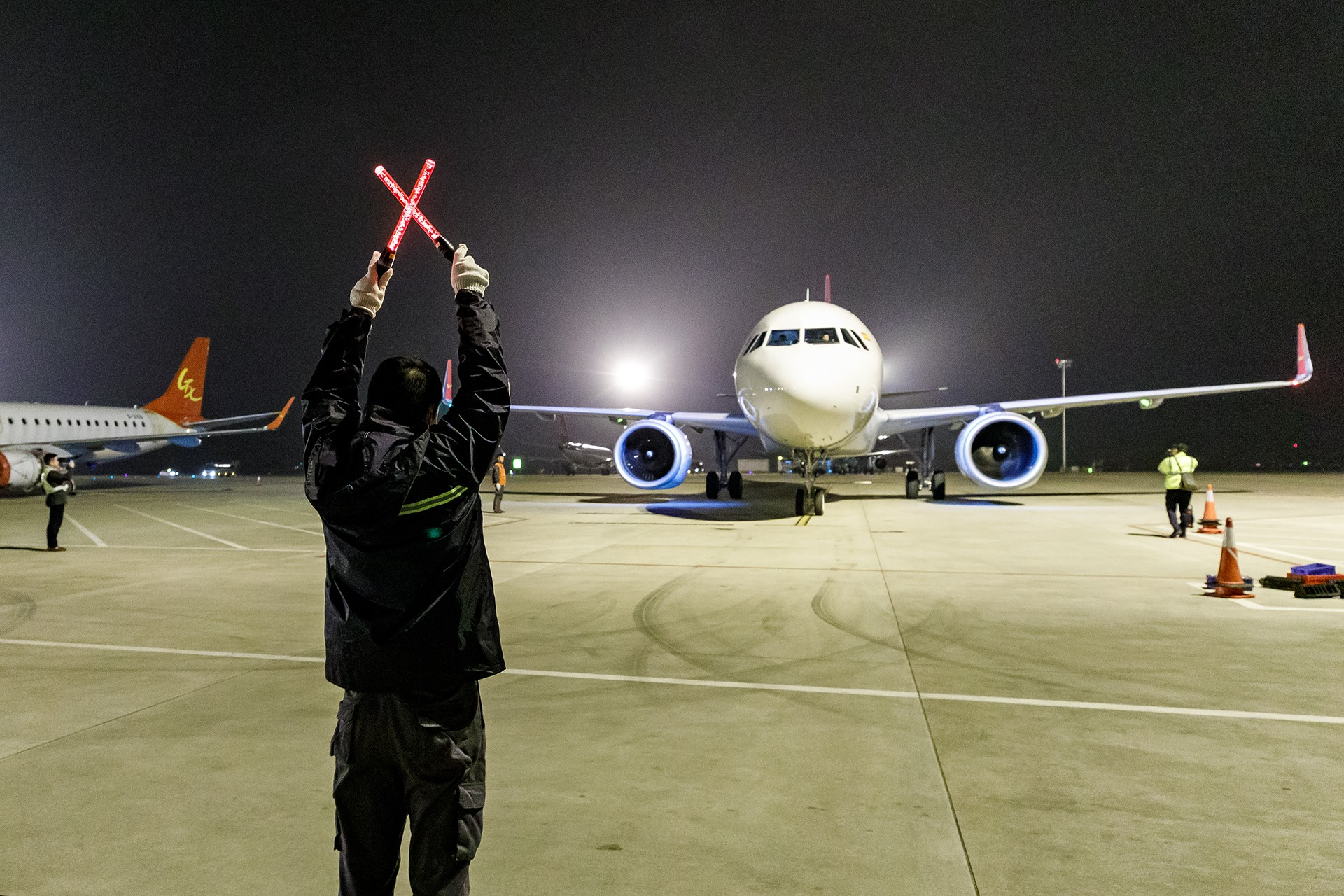 Re:[原创]【南宁飞友】迎接北部湾航空首架A320NEO    中国南宁吴圩国际机场