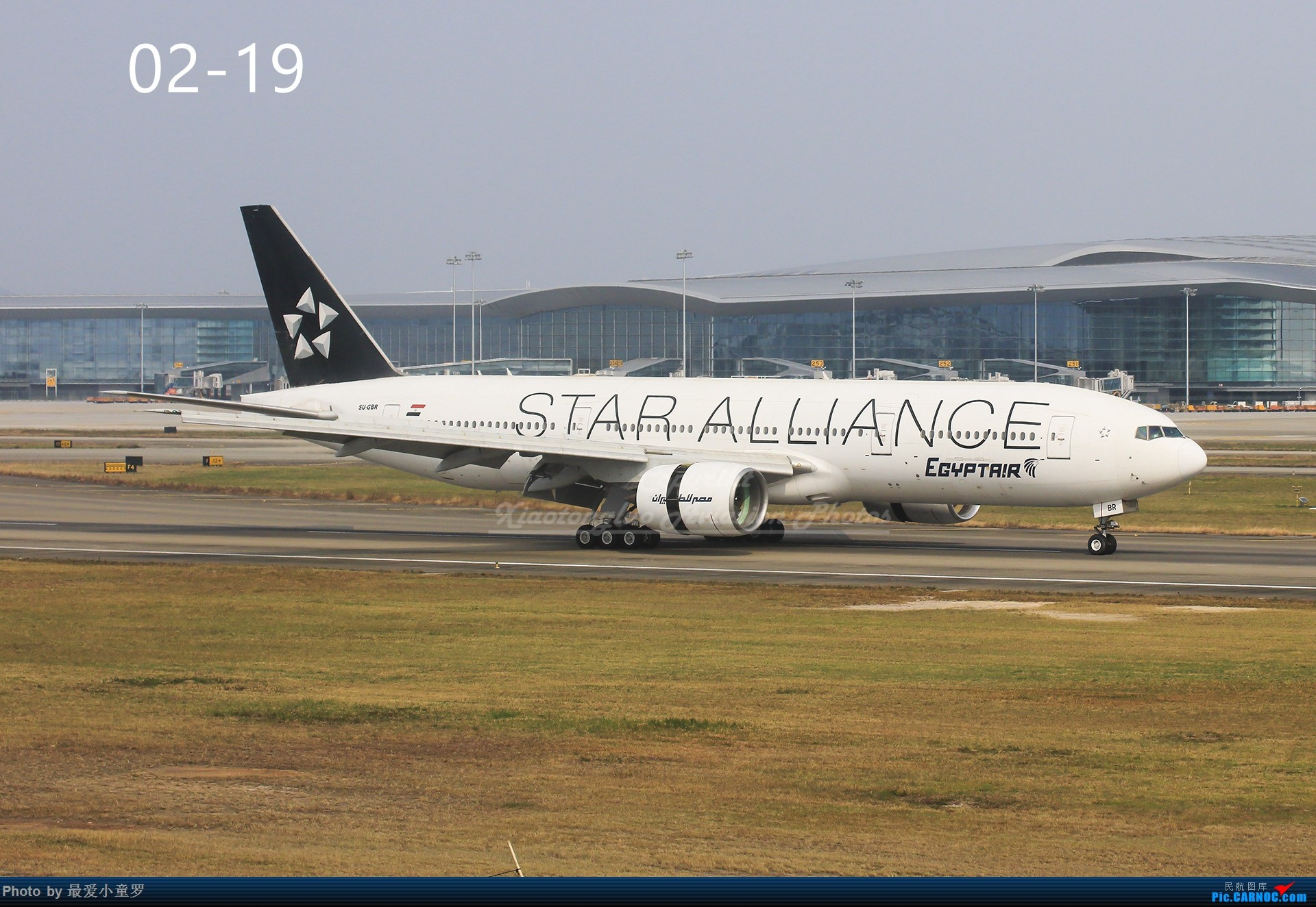 Re:[原创]年底交作业——小童罗的2018年拍机总结 BOEING 777-200ER SU-GBR 中国广州白云国际机场