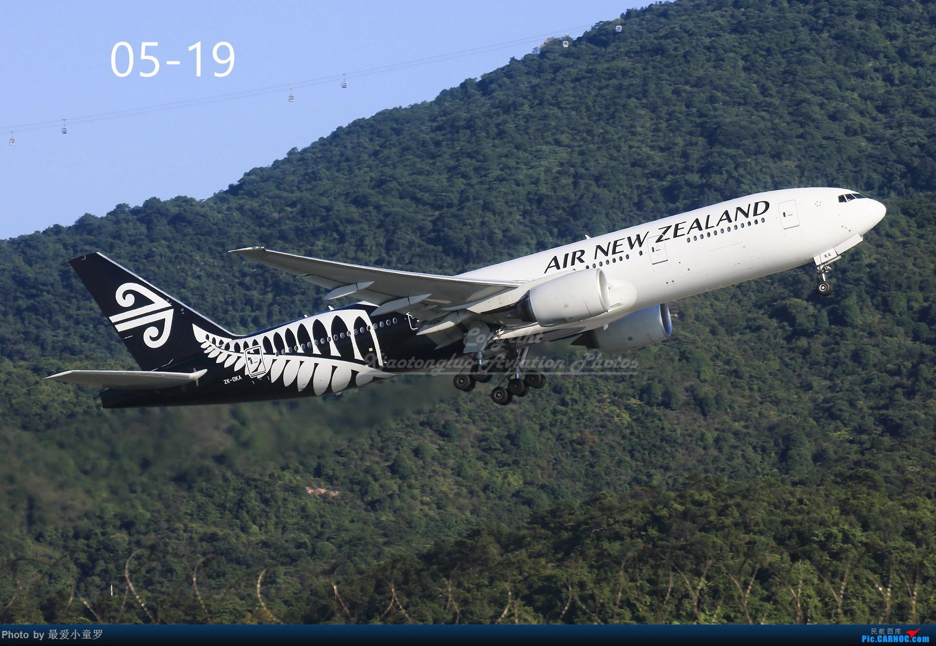 Re:[原创]年底交作业——小童罗的2018年拍机总结 BOEING 777-200ER ZK-OKA 中国香港国际机场
