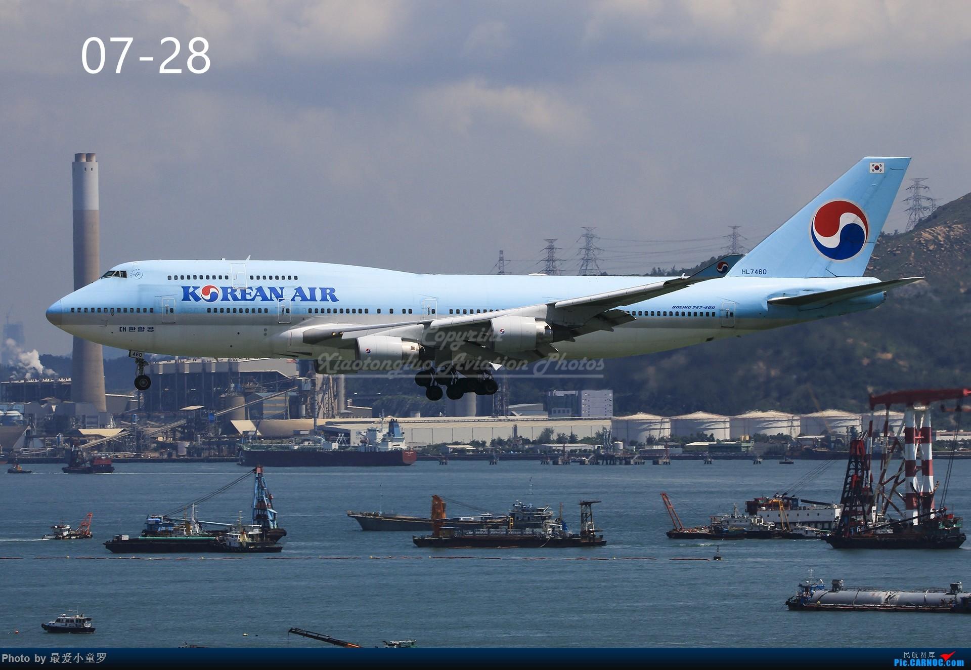 Re:[原创]年底交作业——小童罗的2018年拍机总结 BOEING 747-400 HL7460 中国香港国际机场
