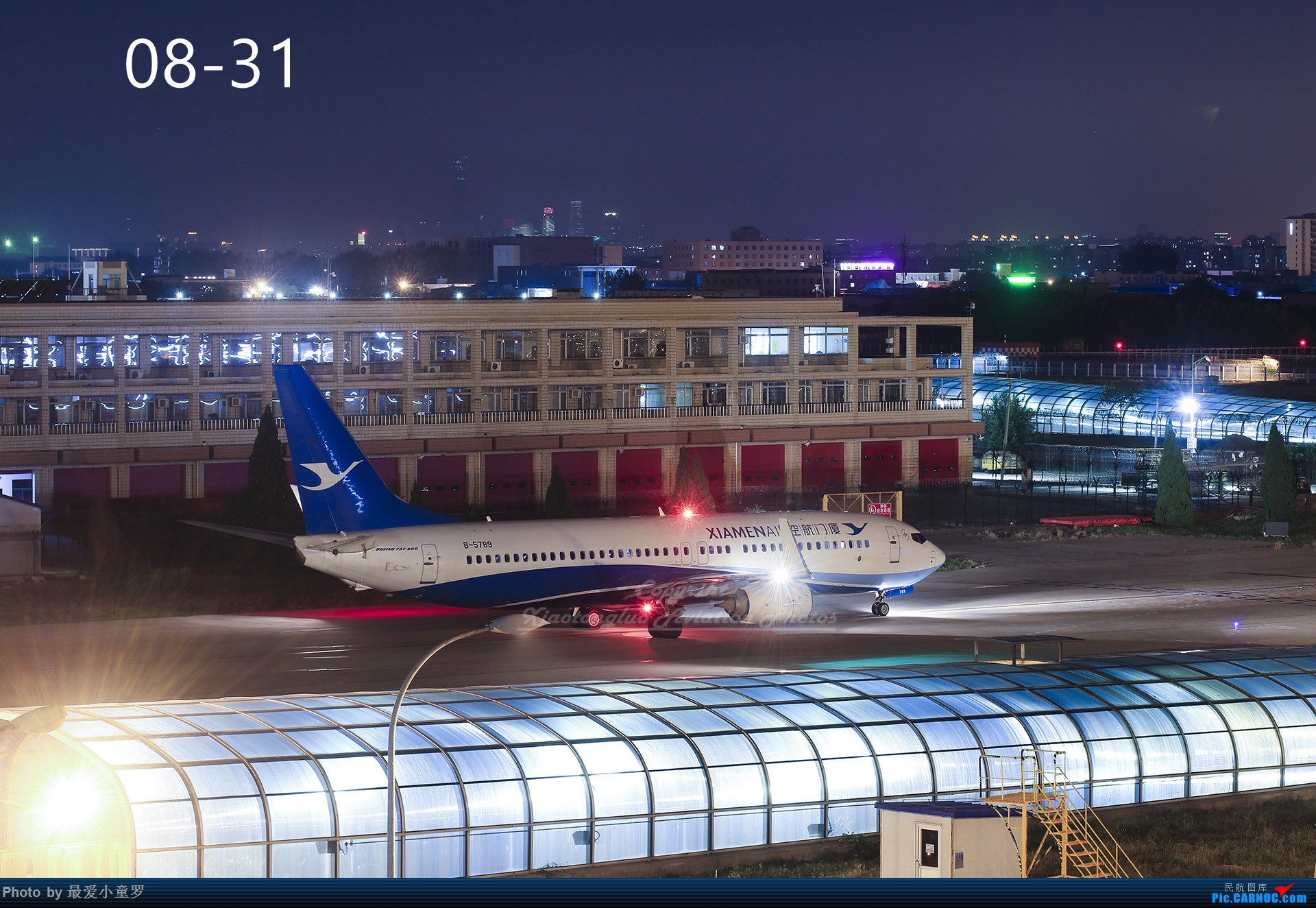 Re:[原创]年底交作业——小童罗的2018年拍机总结 BOEING 737-800 B-5789 中国北京首都国际机场