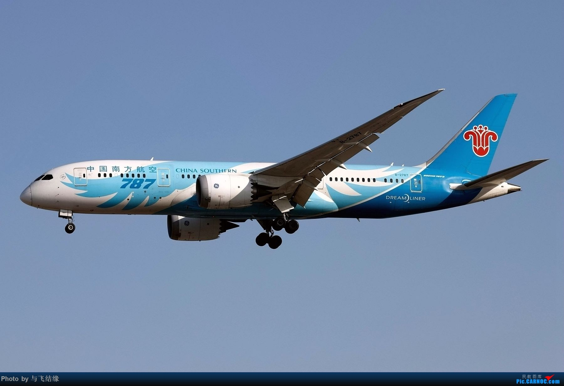 Re:[原创]今日是周末,月末,年末2018年最后一贴,预祝朋友们2019年新年快乐!万事如意! BOEING 787-8 B-2787 中国北京首都国际机场