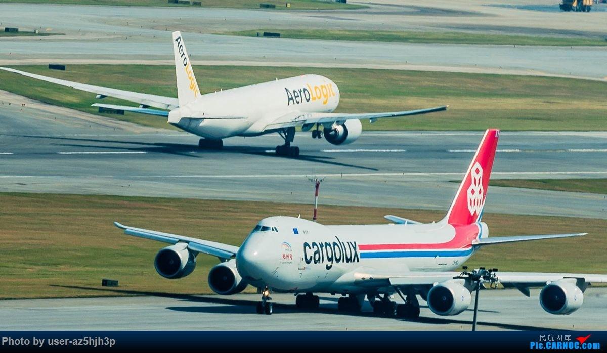Re:[原创]告别2018 拥抱2019 祝飞友们新年快乐 BOEING 747-8F LX-VCI 香港国际机场