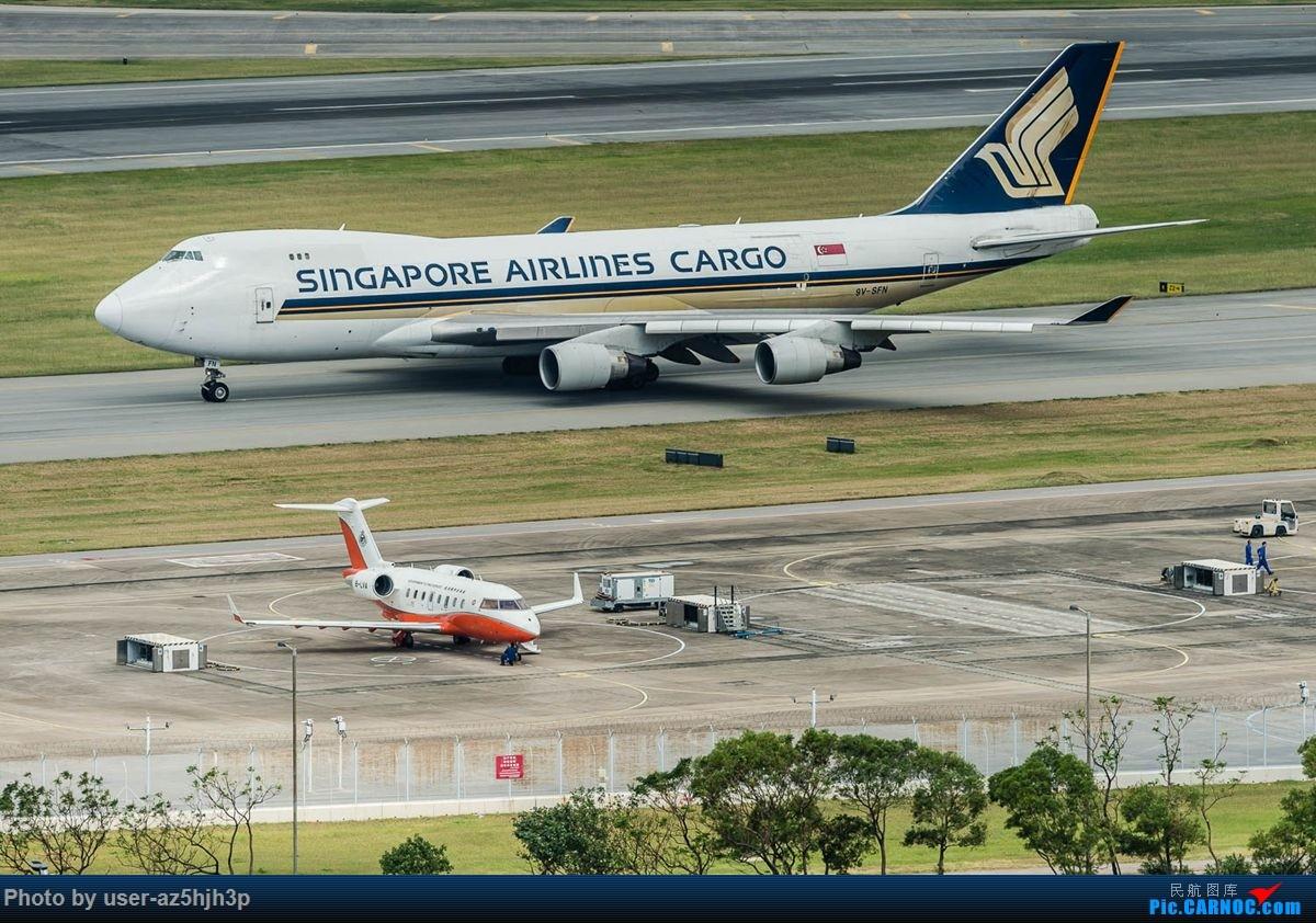 Re:[原创]告别2018 拥抱2019 祝飞友们新年快乐 BOEING 747-400 9V-SFN 香港国际机场