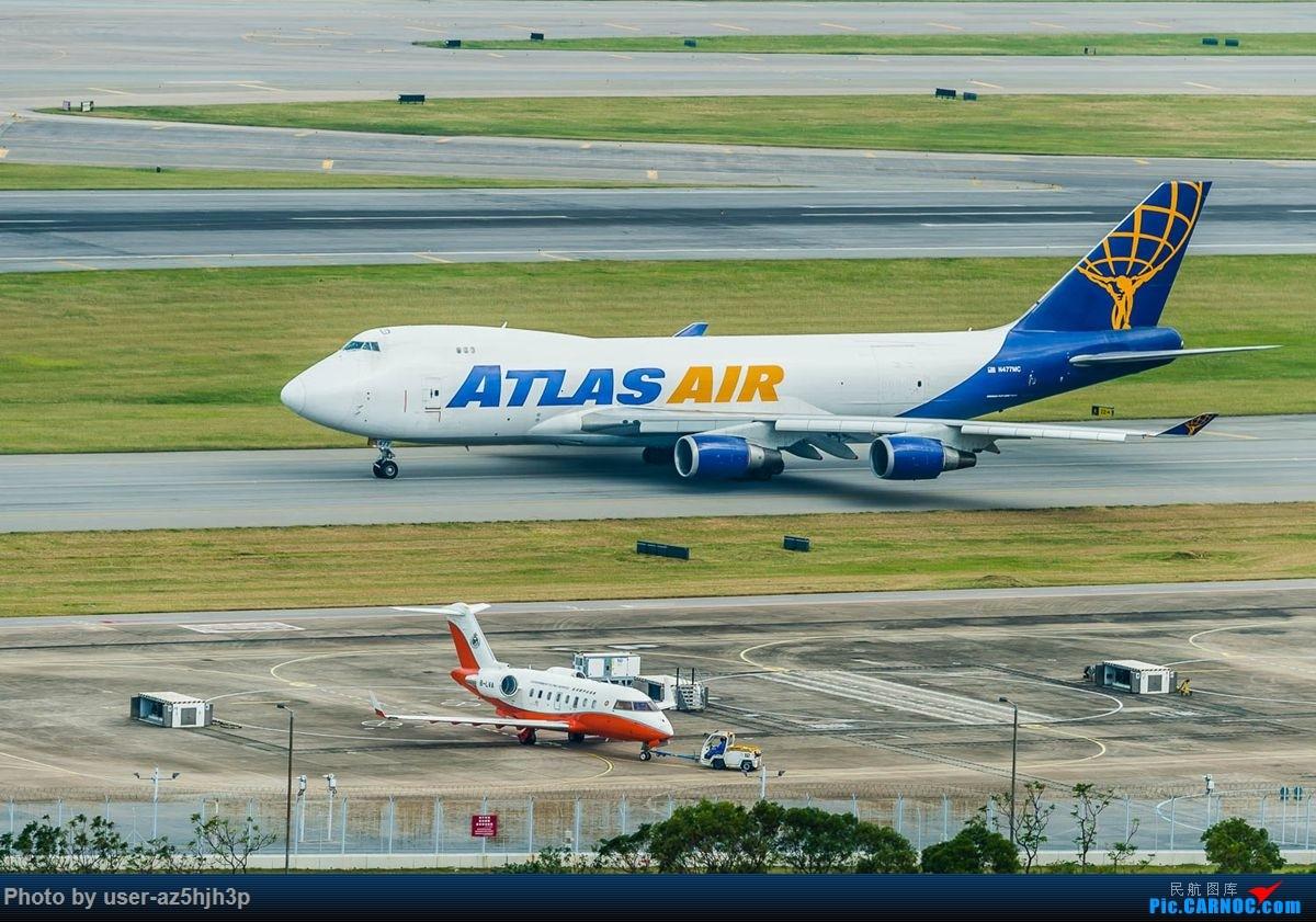 Re:[原创]告别2018 拥抱2019 祝飞友们新年快乐 BOEING 747-400 N477MC 香港国际机场
