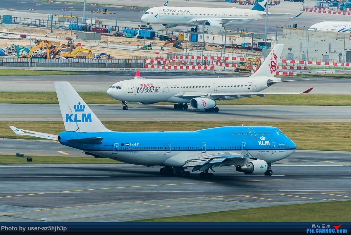Re:[原创]告别2018 拥抱2019 祝飞友们新年快乐 BOEING 747-400 PH-BFI 香港国际机场