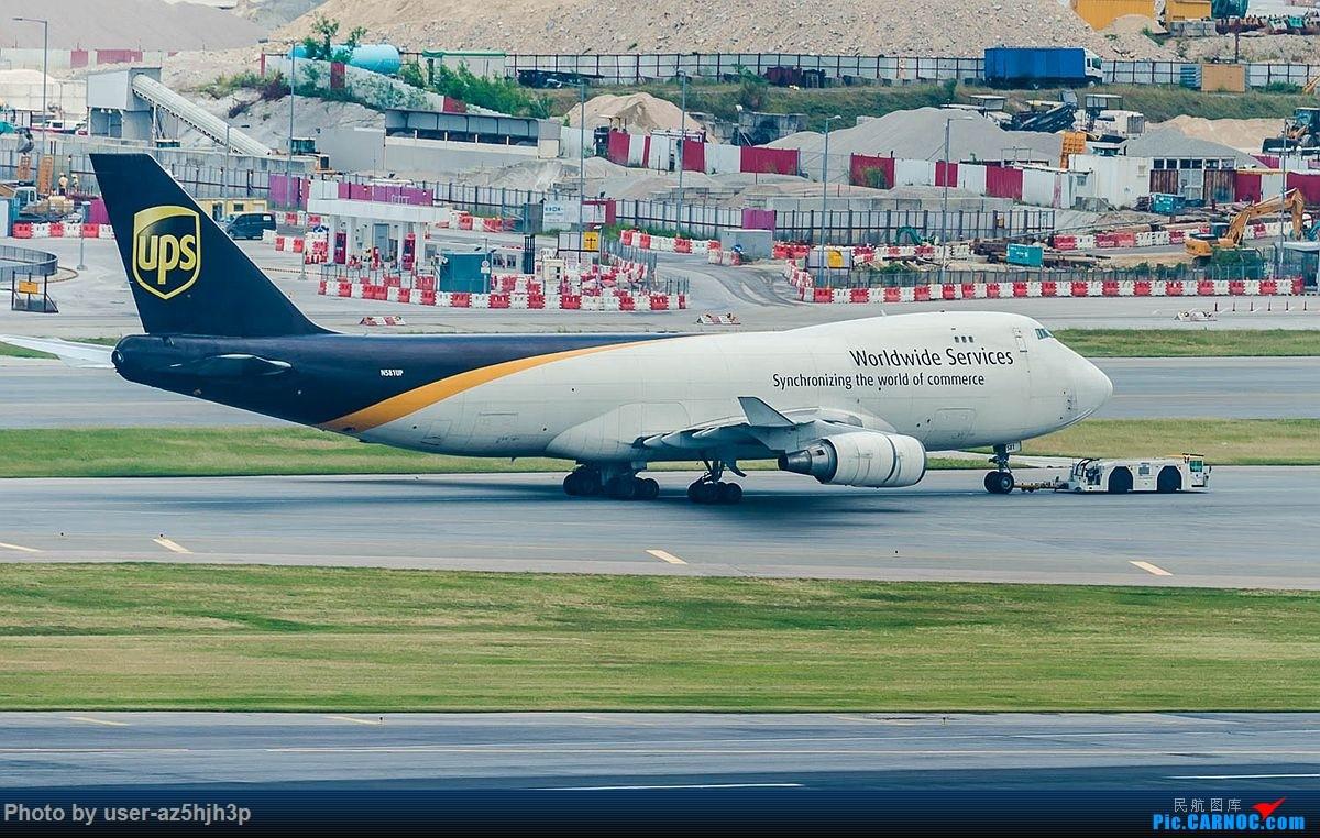 Re:[原创]告别2018 拥抱2019 祝飞友们新年快乐 BOEING 747-400 N581UP 香港国际机场