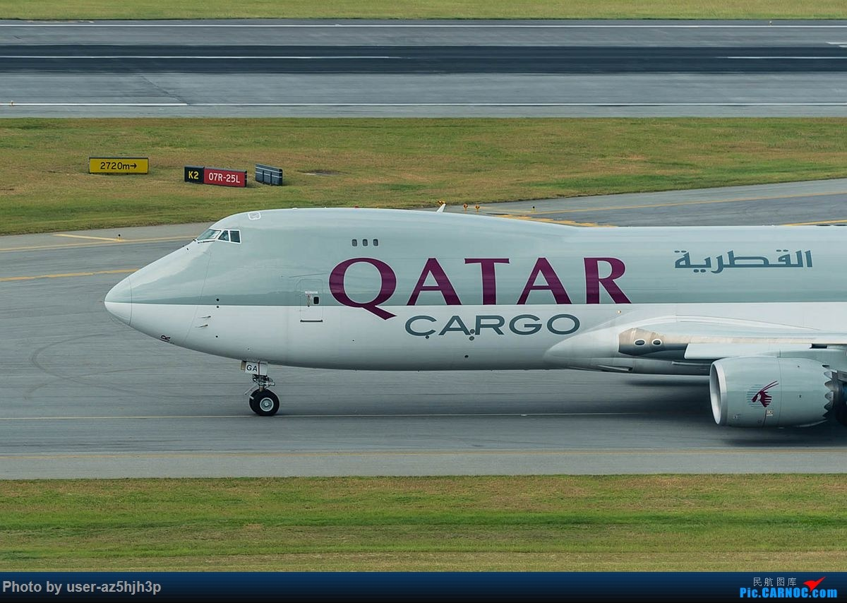 Re:[原创]告别2018 拥抱2019 祝飞友们新年快乐 BOEING 747-8 A7 -BGA 香港国际机场