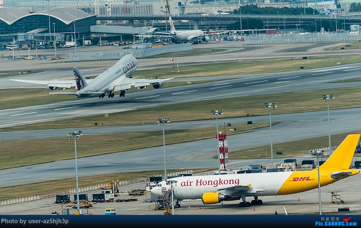 Re:[原创]告别2018 拥抱2019 祝飞友们新年快乐 BOEING 747-8 A7-BGA 香港国际机场