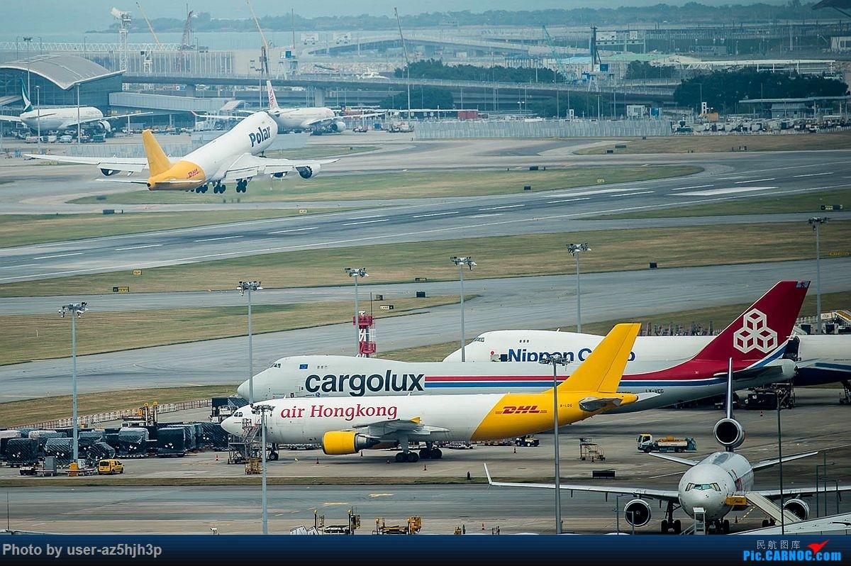 Re:[原创]告别2018 拥抱2019 祝飞友们新年快乐 BOEING 747-8 N858GT 香港国际机场