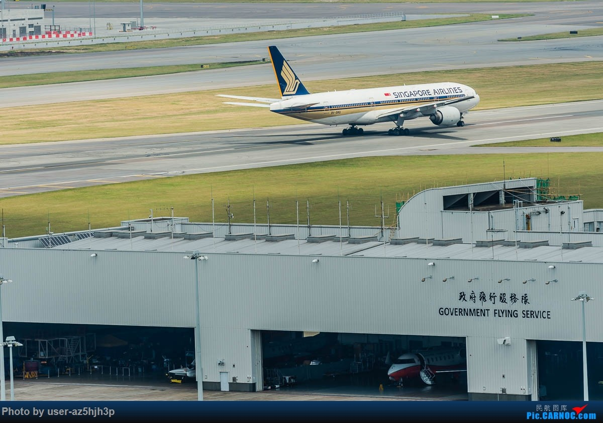 Re:[原创]告别2018 拥抱2019 祝飞友们新年快乐 BOEING 777-200 9V-SRQ 香港国际机场