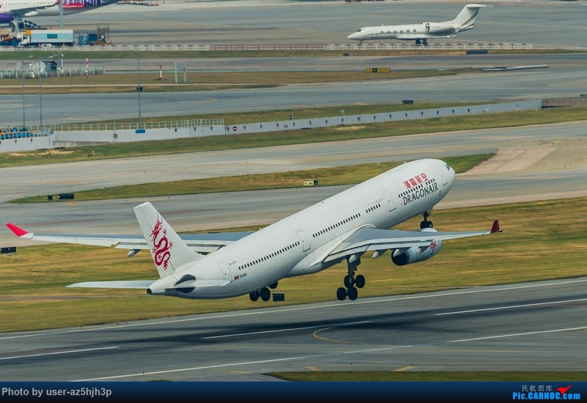 Re:[原创]告别2018 拥抱2019 祝飞友们新年快乐 AIRBUS A330-300 B-HYI 香港国际机场