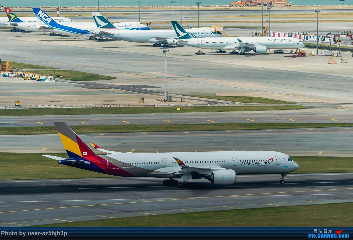 Re:[原创]告别2018 拥抱2019 祝飞友们新年快乐 AIRBUS A350-900 HL7771 香港国际机场