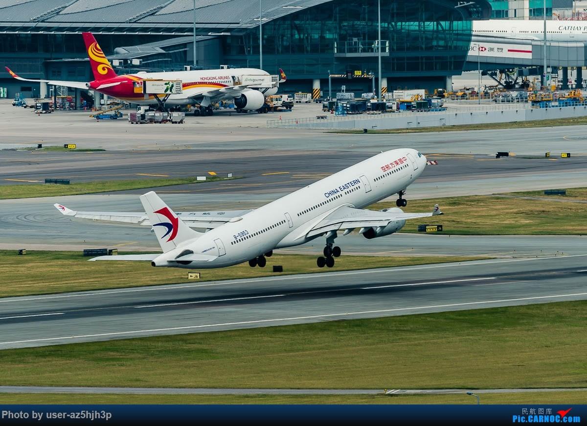 Re:[原创]告别2018 拥抱2019 祝飞友们新年快乐 AIRBUS A330-300 B-5953 香港国际机场