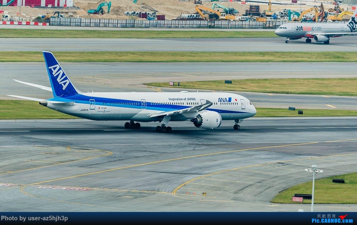 Re:告别2018 拥抱2019 祝飞友们新年快乐 BOEING 787-9 JA897A 香港国际机场