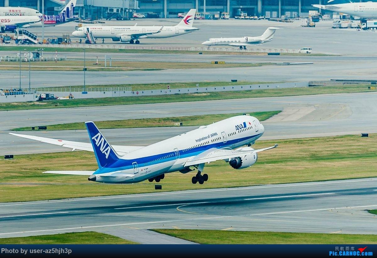 Re:[原创]告别2018 拥抱2019 祝飞友们新年快乐 BOEING 787-9 JA897A 香港国际机场