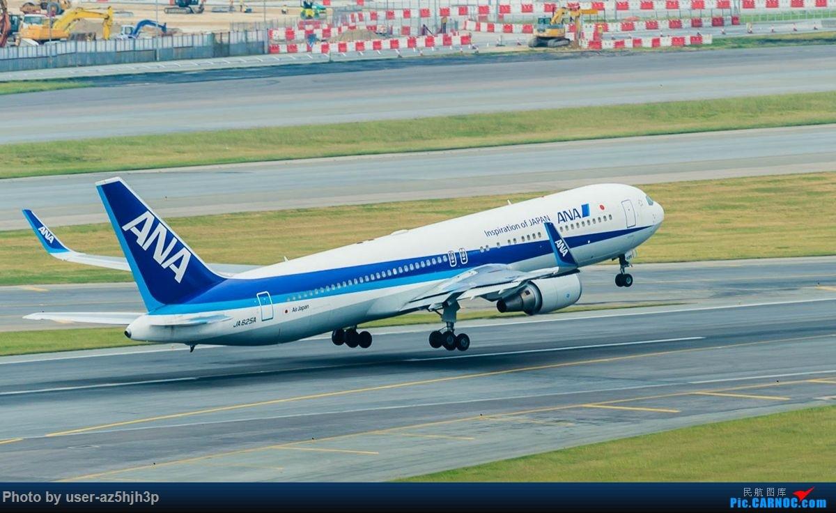 Re:[原创]告别2018 拥抱2019 祝飞友们新年快乐 BOEING 767-300 JA625A 香港国际机场