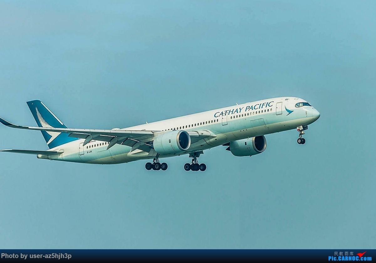 Re:[原创]2018香港飞机维修区最后一拍 AIRBUS A350-900 B-LRK 香港国际机场