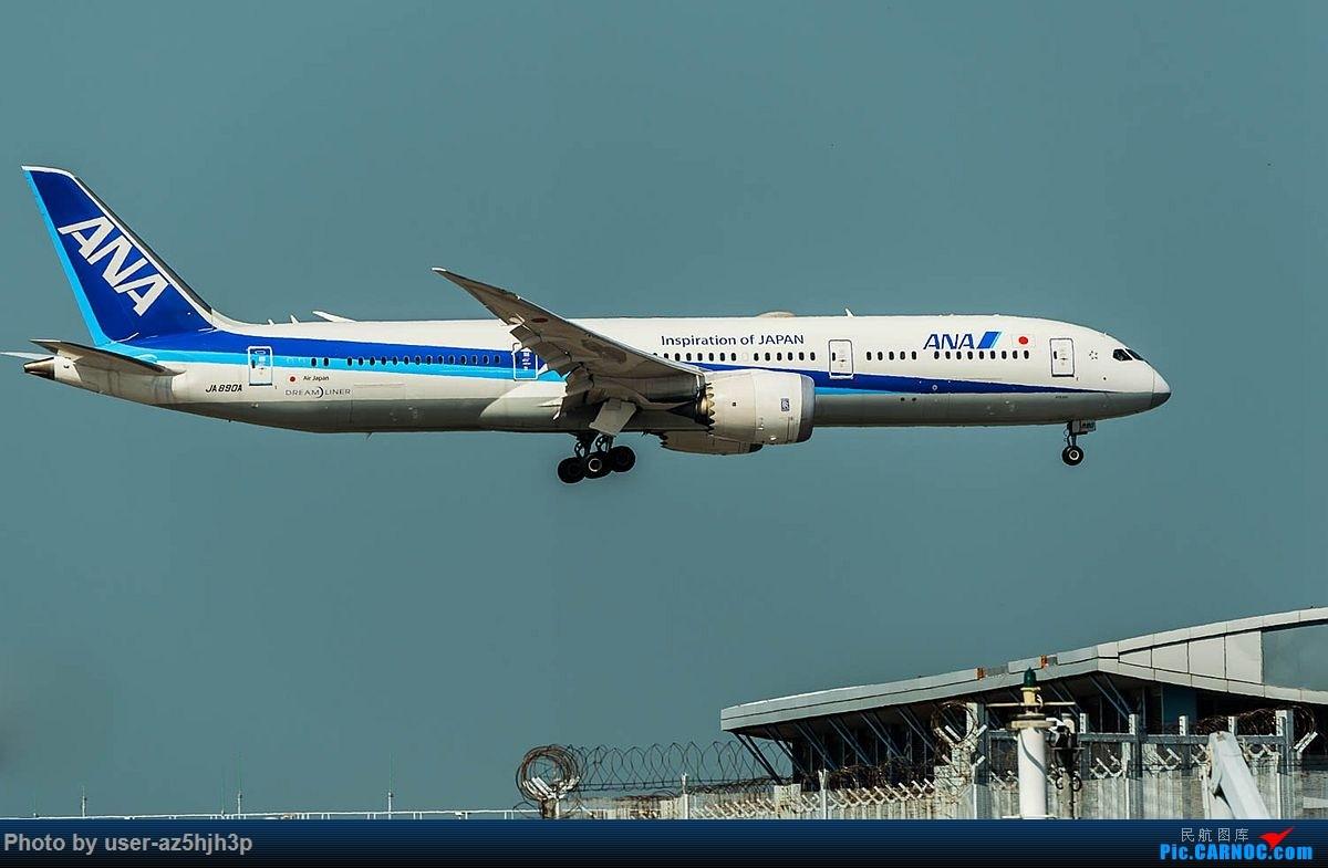 Re:2018香港飞机维修区最后一拍 BOEING 787-9 JA890A 香港国际机场