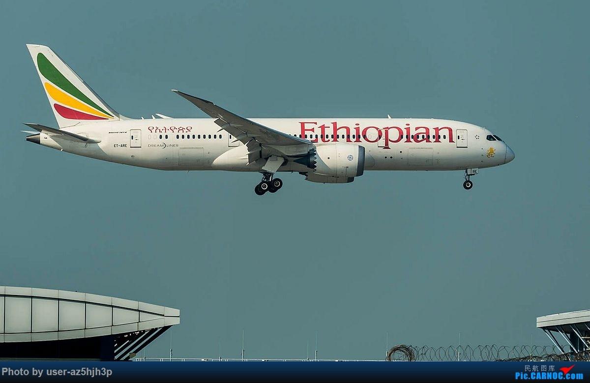 Re:[原创]2018香港飞机维修区最后一拍 BOEING 787-8 ET-ARE 香港国际机场