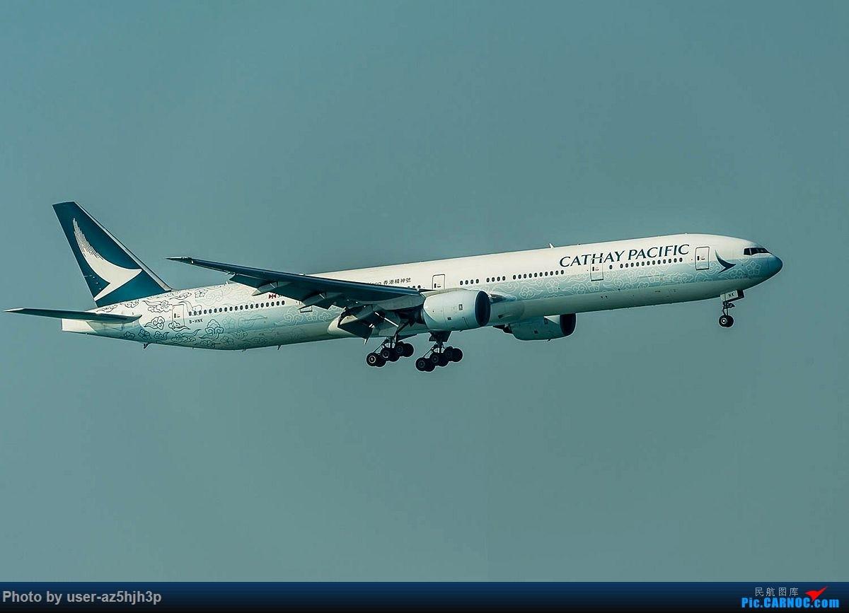 Re:[原创]2018香港飞机维修区最后一拍 BOEING 777-300 B-HNK 香港国际机场