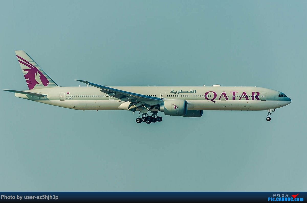 Re:[原创]2018香港飞机维修区最后一拍 BOEING 777-300ER A7-BEEL 香港国际机场