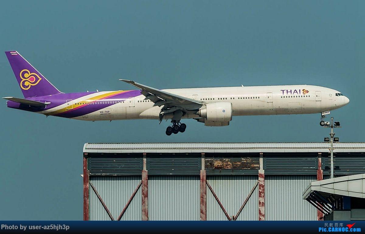 Re:[原创]2018香港飞机维修区最后一拍 BOEING 777-300 HS-TKP 香港国际机场
