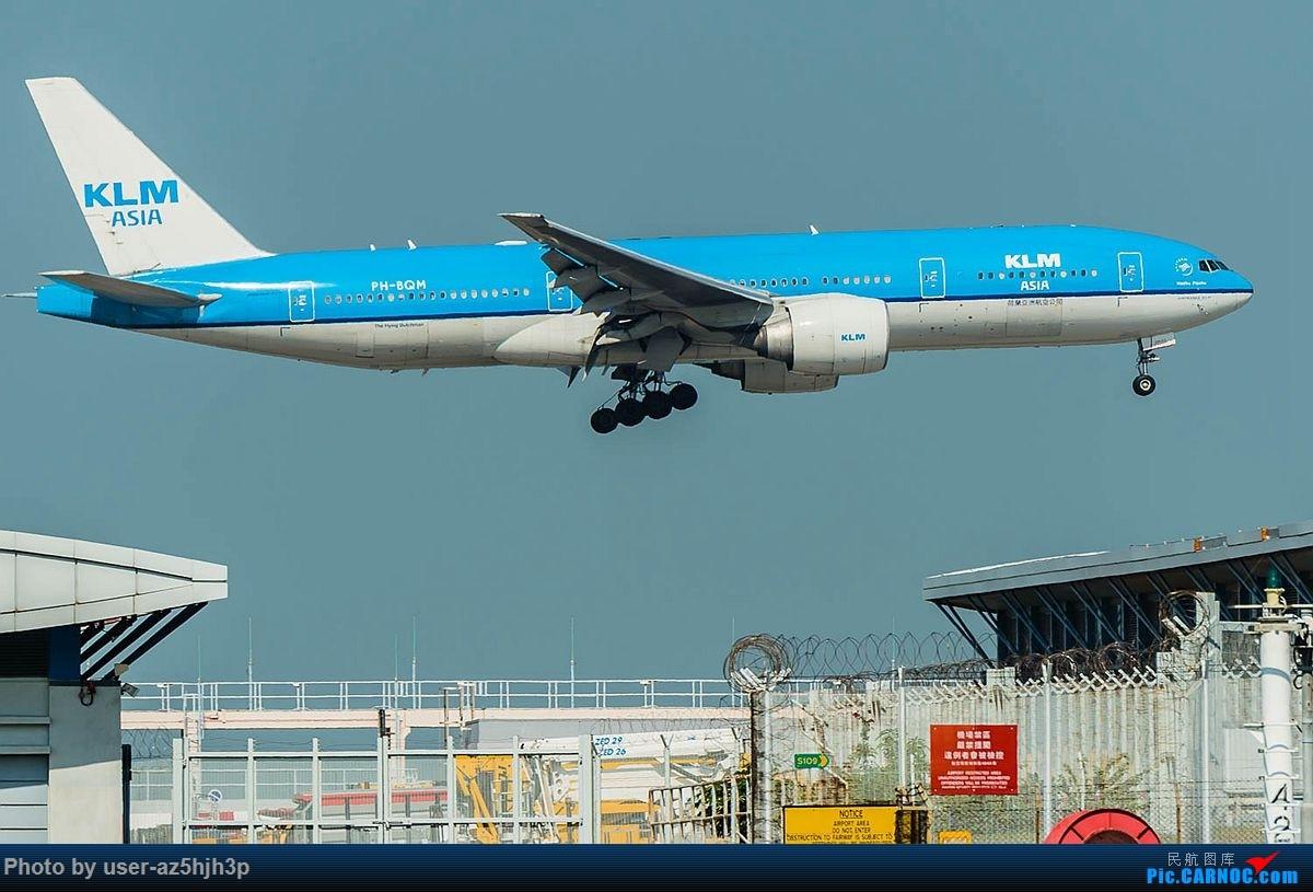 Re:[原创]2018香港飞机维修区最后一拍 BOEING 777 PH-BQM 香港国际机场