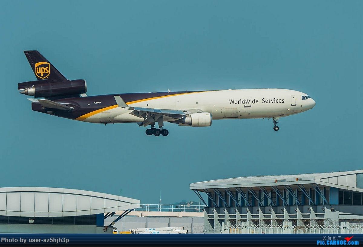 Re:[原创]2018香港飞机维修区最后一拍 麦道-11 N259UP 香港国际机场