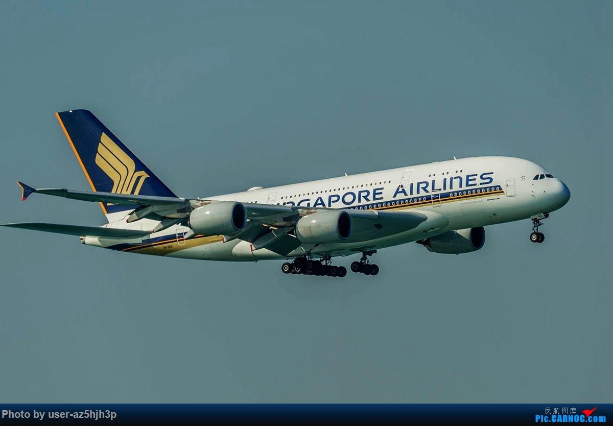 Re:[原创]2018香港飞机维修区最后一拍 AIRBUS A380 9V-SKZ 香港国际机场