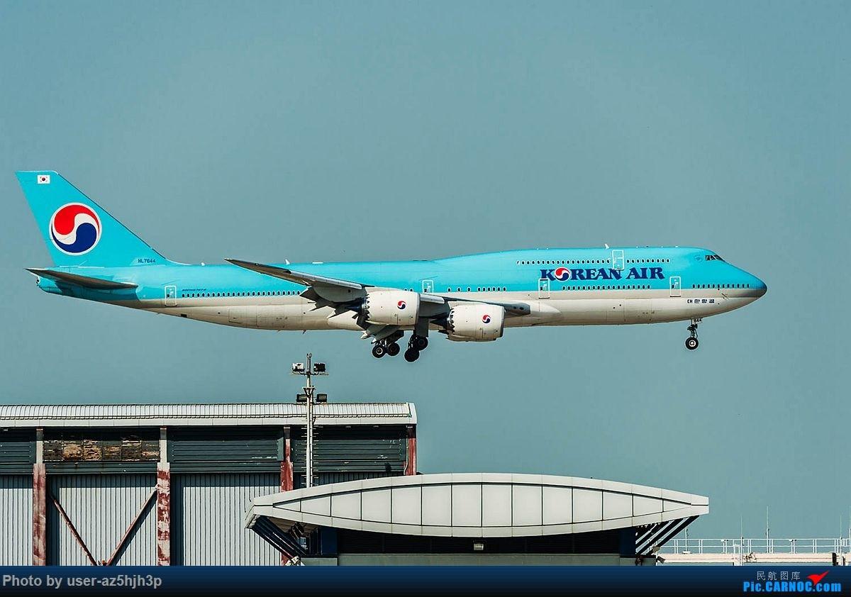 Re:[原创]2018香港飞机维修区最后一拍 BOEING 747-8 HL7644 香港国际机场