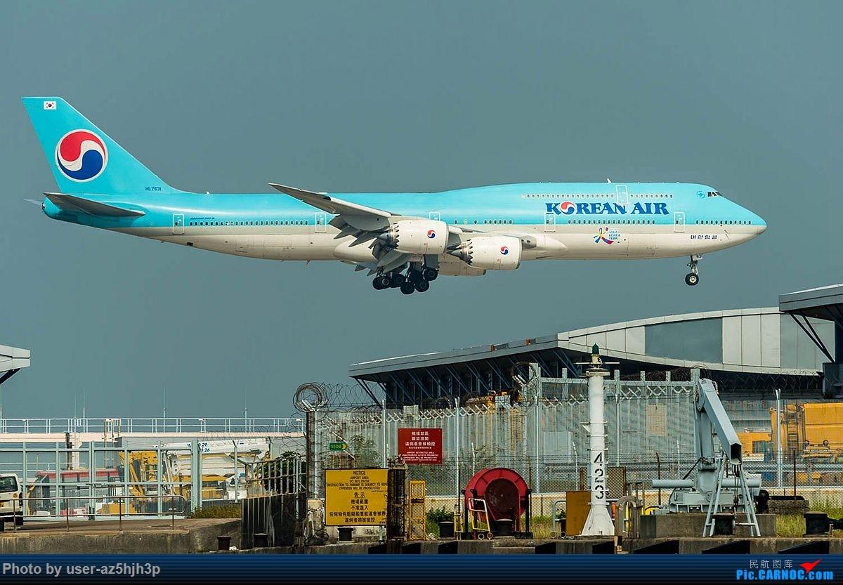 Re:[原创]2018香港飞机维修区最后一拍 BOEING 747-8 HL7631 香港国际机场