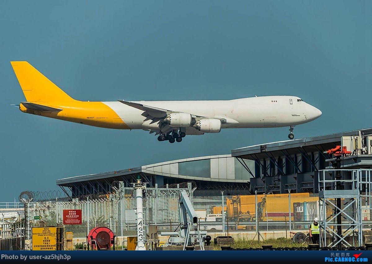 Re:[原创]2018香港飞机维修区最后一拍 BOEING 747-8 N856GT 香港国际机场