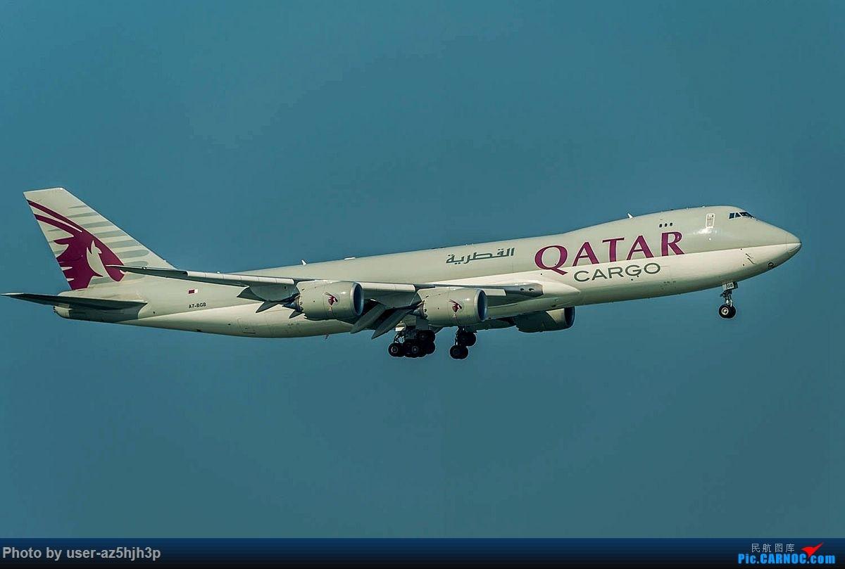 Re:2018香港飞机维修区最后一拍 BOEING 747-8F A7-BGB 香港国际机场