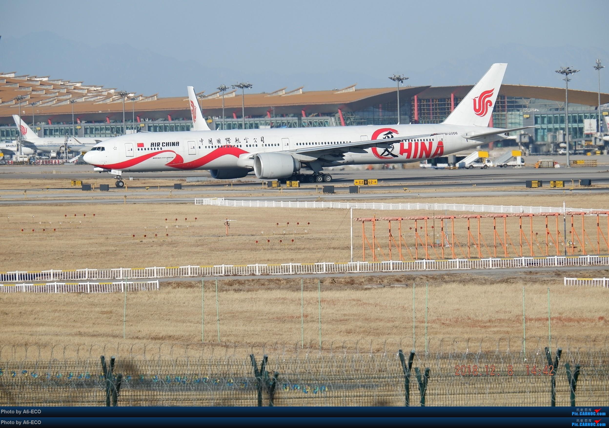 Re:[原创]一百天的努力现在升到777啦,祝贺祝贺自己(看贴者送一架,回贴者送二架) BOEING 777-300ER B-2006 中国北京首都国际机场