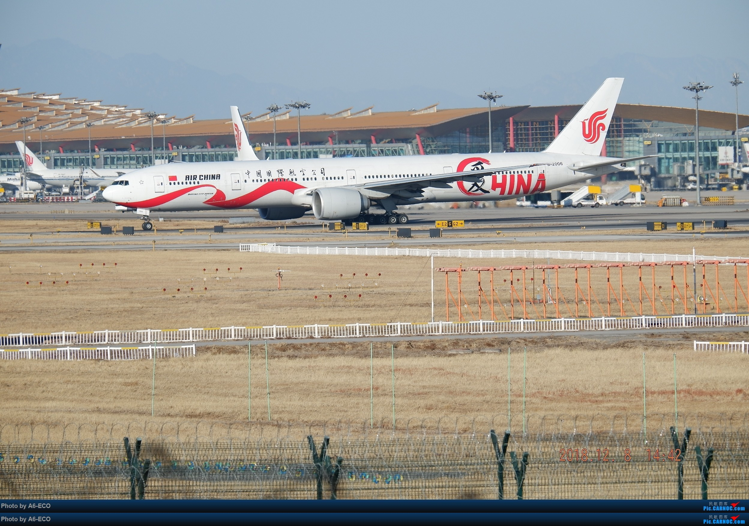 Re:一百天的努力现在升到777啦,祝贺祝贺自己(看贴者送一架,回贴者送二架) BOEING 777-300ER B-2006 中国北京首都国际机场