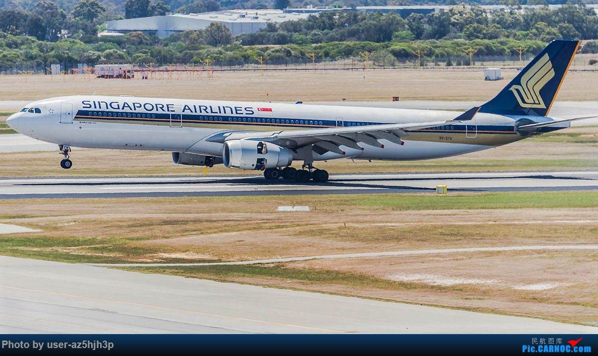 Re:[原创]珀斯国际机场T1航站楼观景台拍机 AIRBUS A330-300 9V-STV 珀斯国际机场