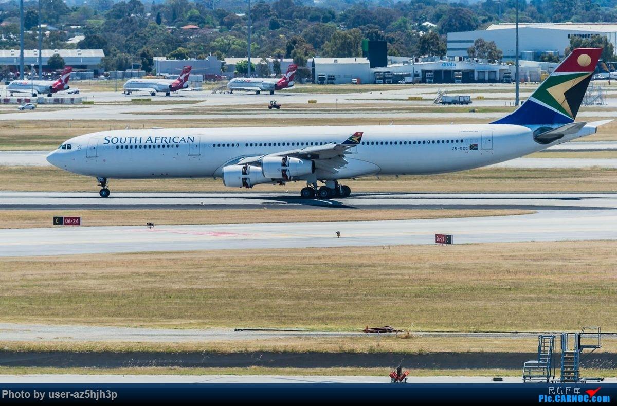 Re:[原创]珀斯国际机场T1航站楼观景台拍机 AIRBUS A340-300 ZS-SXG 珀斯国际机场
