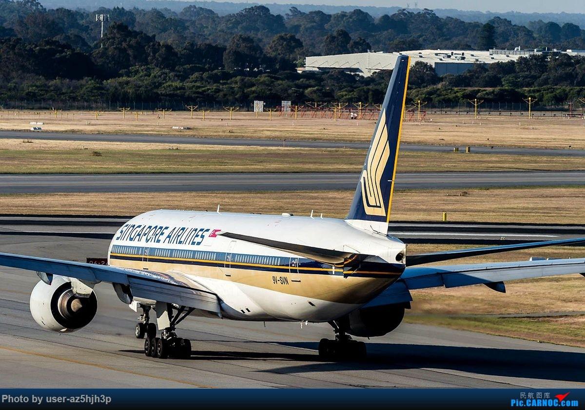 Re:[原创]珀斯国际机场T1航站楼观景台拍机 BOEING 777-200 9V-SVN 珀斯国际机场