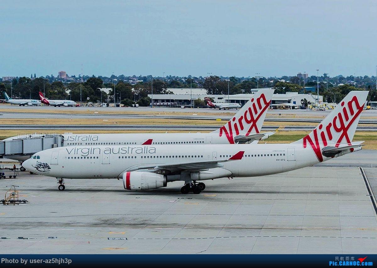 Re:[原创]珀斯国际机场T1航站楼观景台拍机 AIRBUS A330-200 VH-XFG 珀斯国际机场