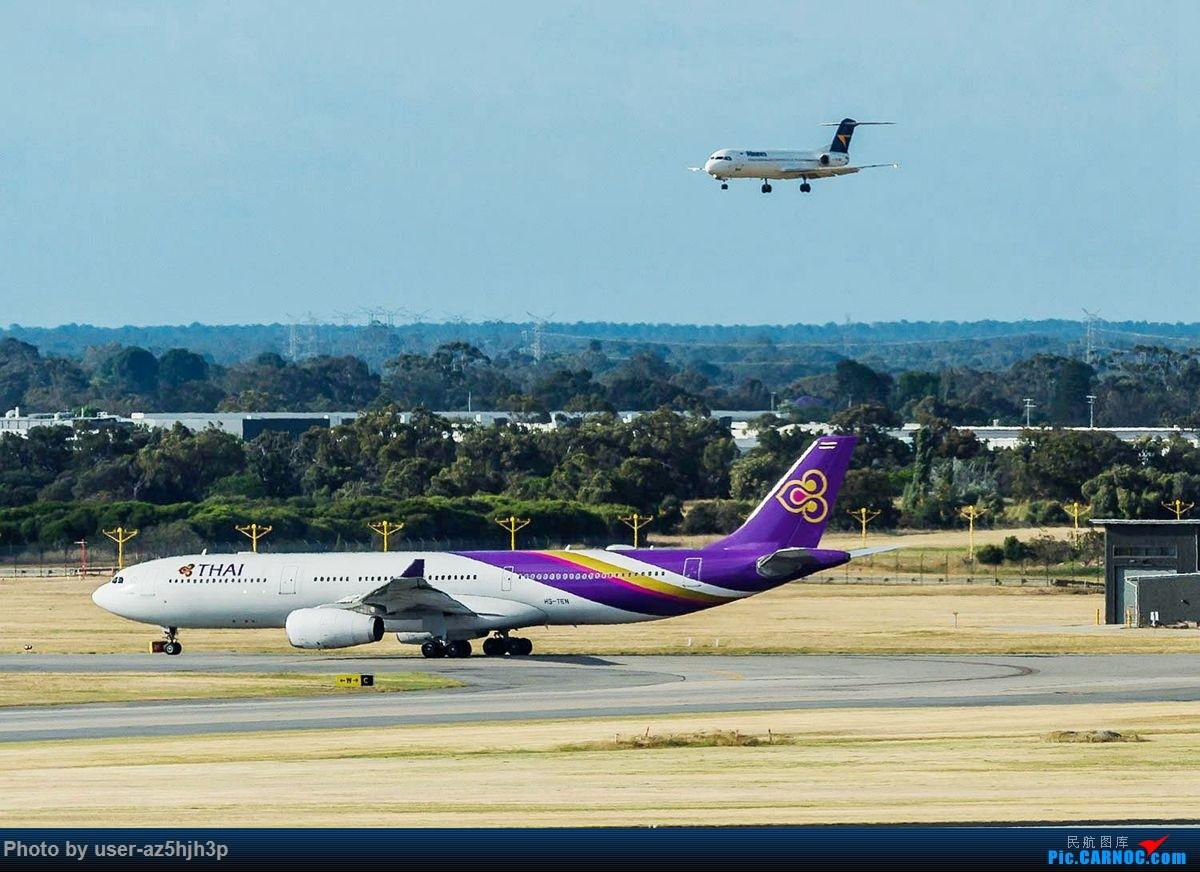 Re:[原创]珀斯国际机场T1航站楼观景台拍机 AIRBUS A330-300 HS-TEN 珀斯国际机场