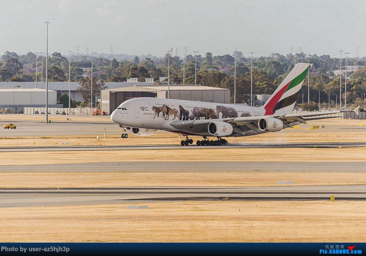 Re:珀斯国际机场T1航站楼观景台拍机 AIRBUS A380-800 A6-EON 珀斯国际机场