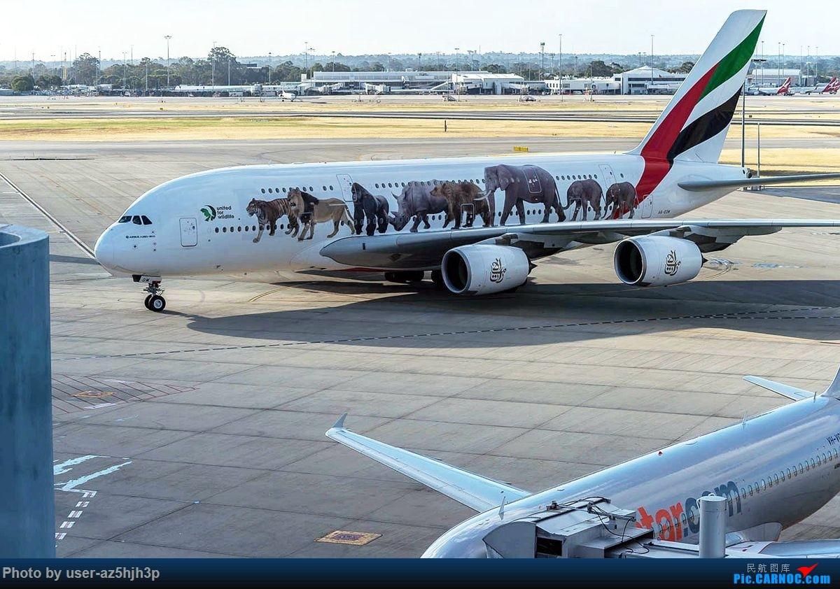 Re:[原创]珀斯国际机场T1航站楼观景台拍机 AIRBUS A380-800 A6-EON 珀斯国际机场